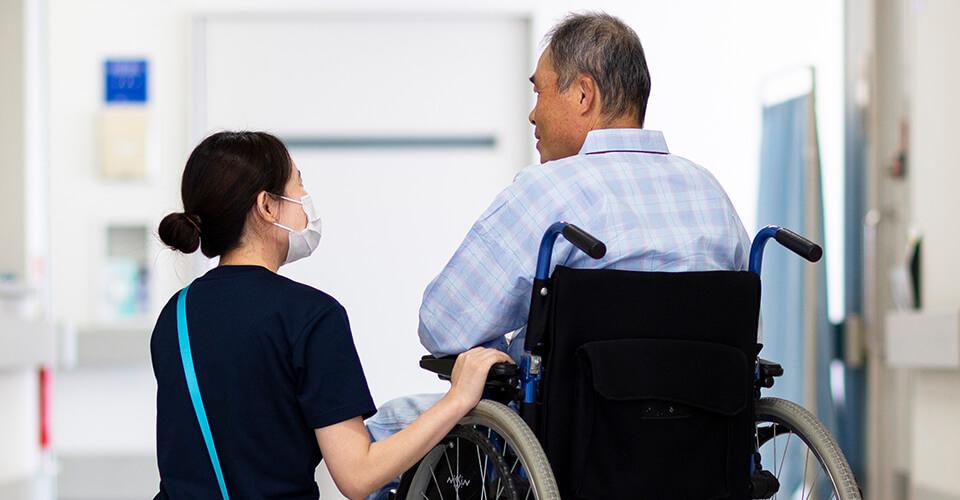 入院中の生活について